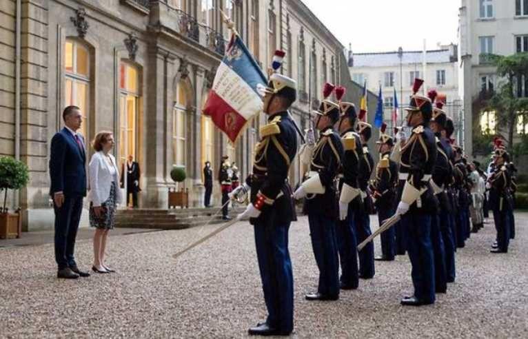 Roumanie 2018, information open source, veille économique, France, diplomatie, rencontre ministérielle, ministres de la défense, coopération bilatérale,