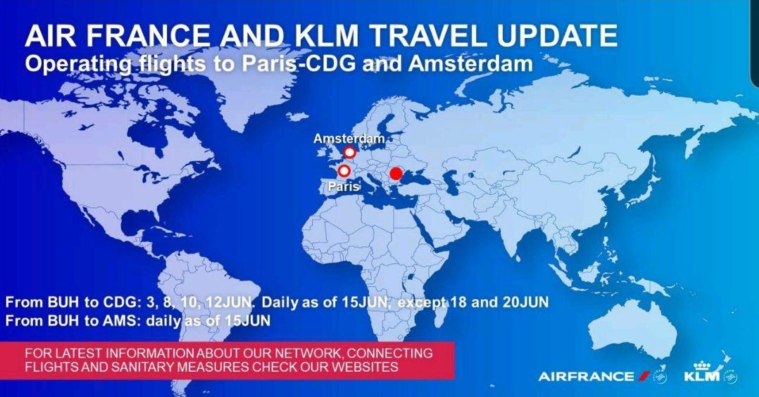 Roumanie vers une reprise des vols entre Paris et Bucarest ?