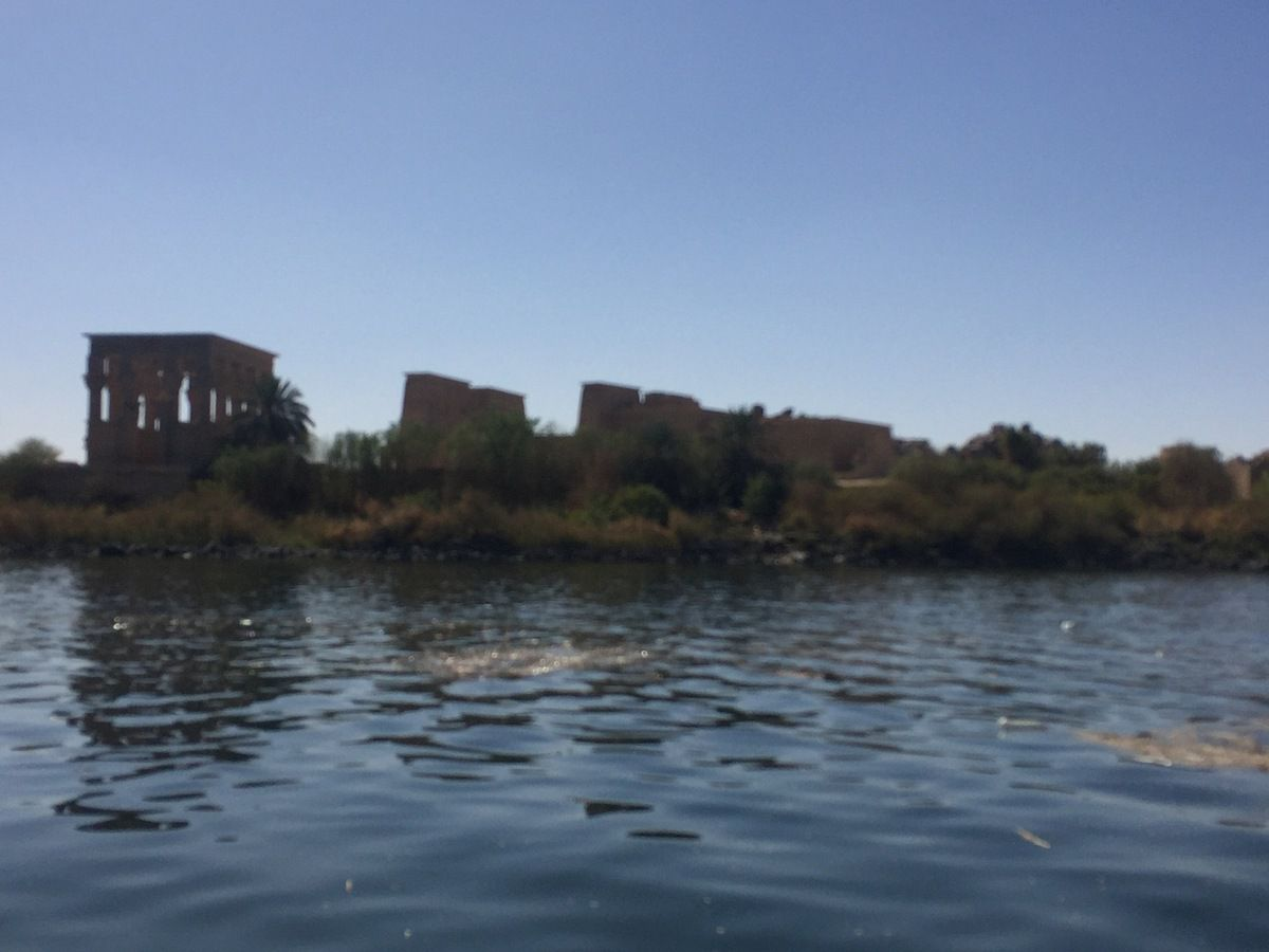 Philae temple in true life 05 2017