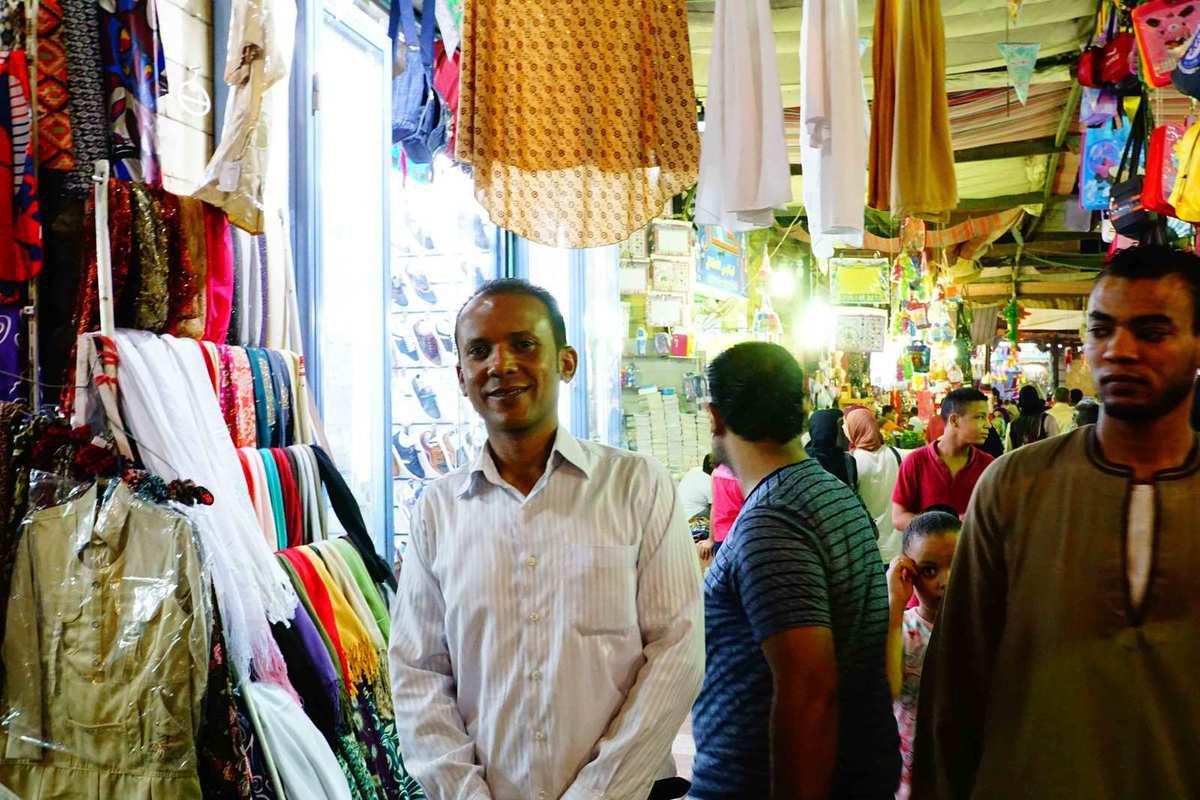 Walk in Aswan Market