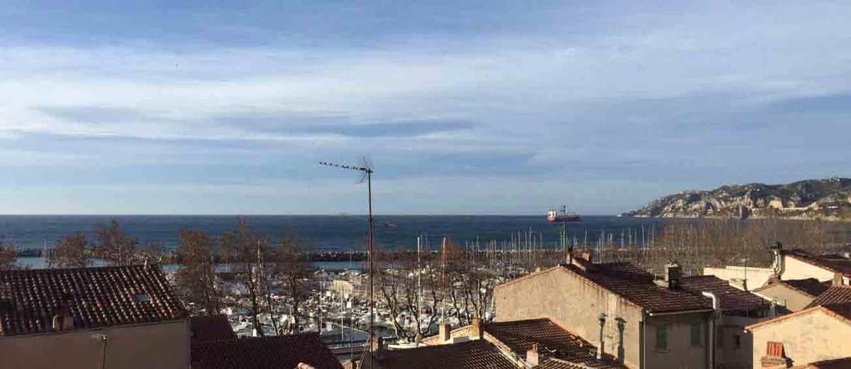 L'Estaque, Marseille, France 4 janvier 2018