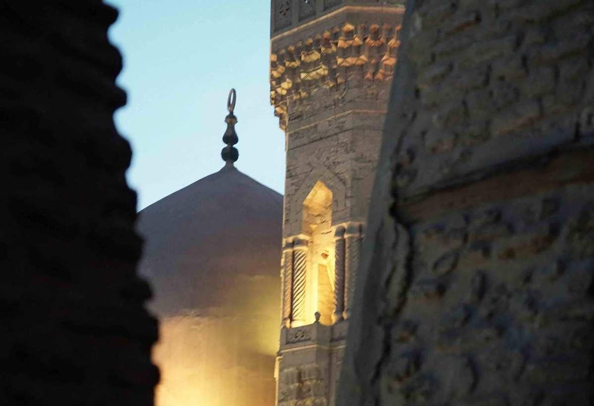 Rue El Moez, AL Moez Street in old muslim Cairo