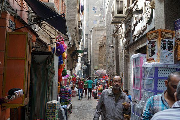 Le Souk d'Attaba au Caire, Attaba Souk in Cairo