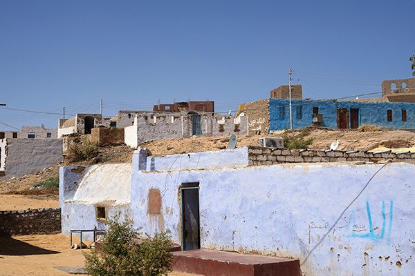Houses in nubian village