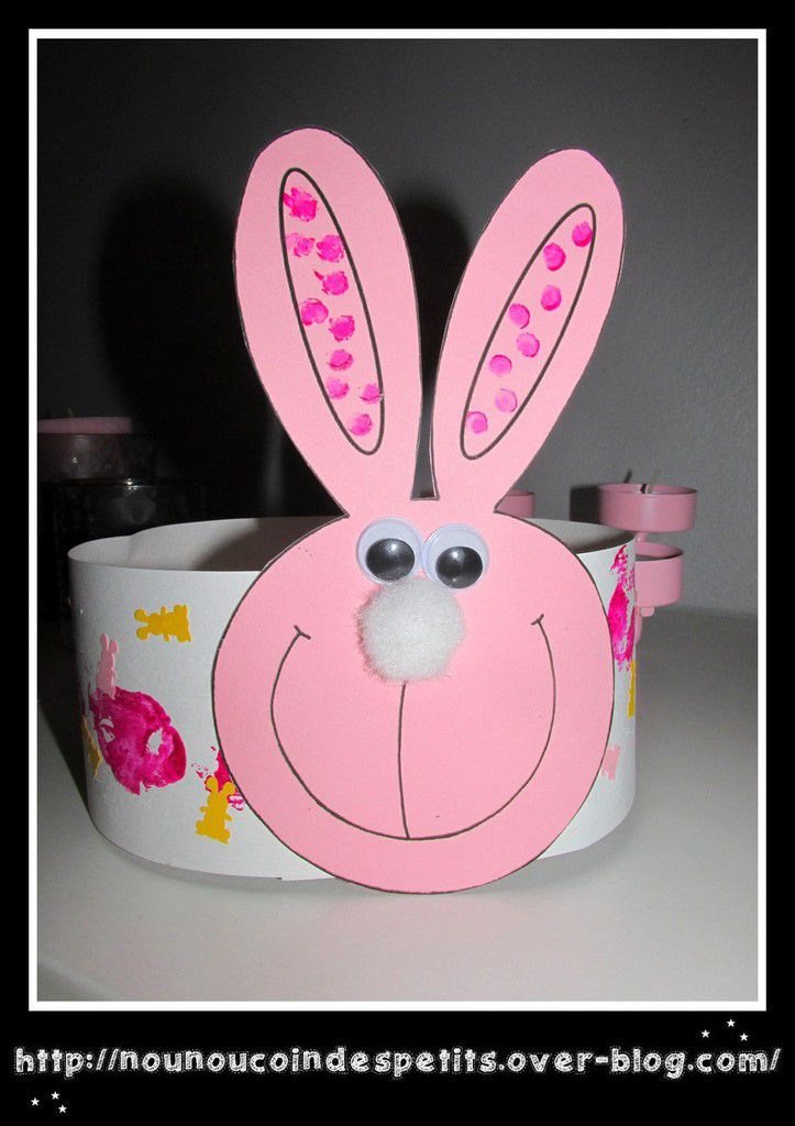 .. Couronne lapin ..