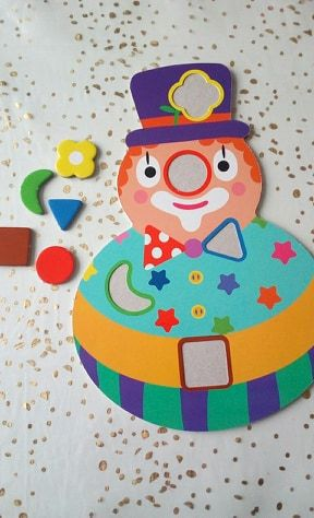 .. Clown Mosaique ..