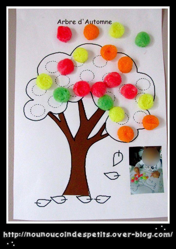 L'arbre d'Automne en playmais