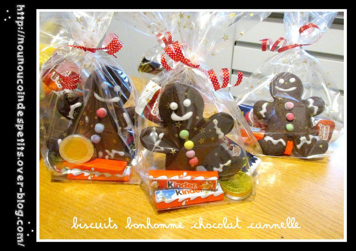 .. Biscuits de Noel chocolat et cannelle ..