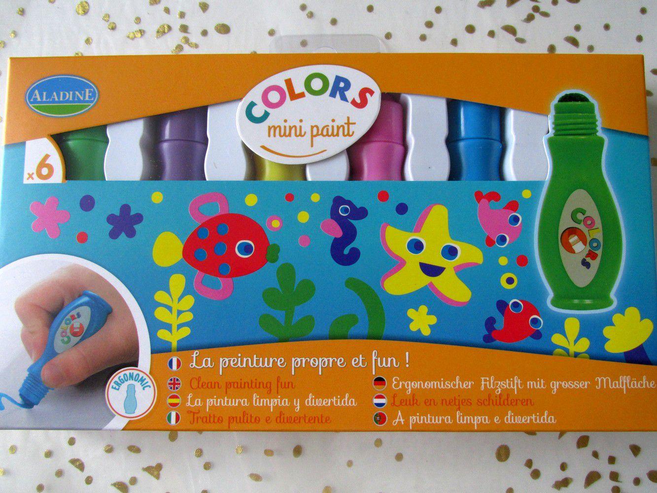 les feutres tampons peinture propre de chez creavea - stickers de chez Action