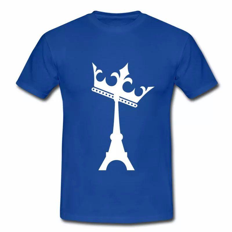 T shirt France La reine Tour Eiffel HBR