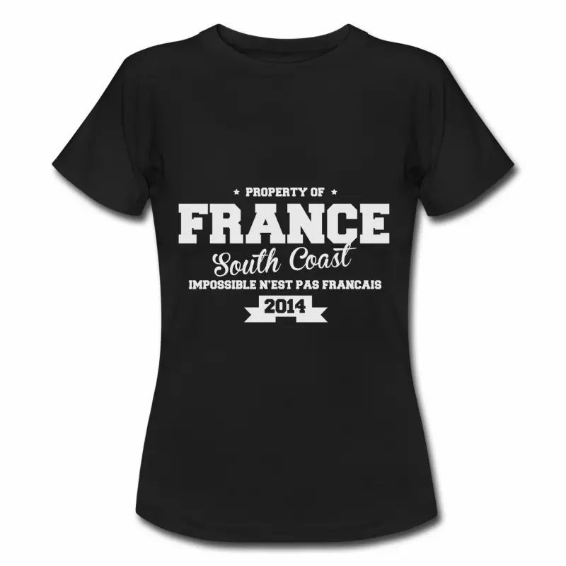 T shirt France South Coast Property FNR