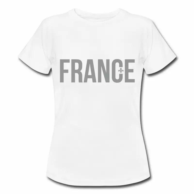 T shirt France et fleur de lys FBL
