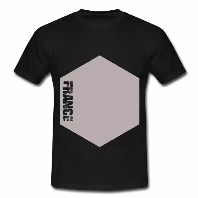 T shirt France Hexagone HNR