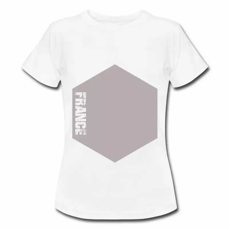 T shirt France Hexagone FBL