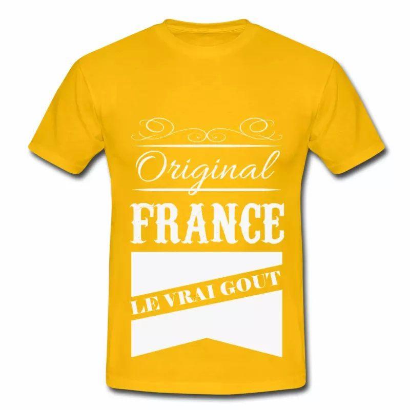 T shirt France le vrai gout HJN