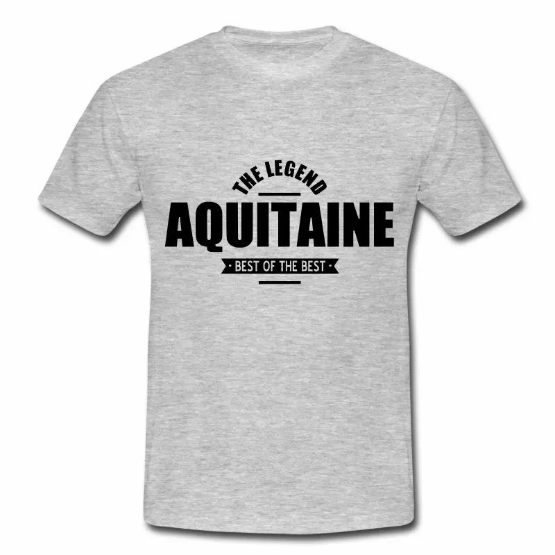 T Shirt Aquitaine gris homme The Legend