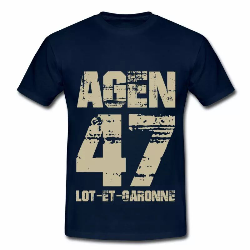 Tee Shirt France Aquitaine Lot-et-Garonne 47 Agen