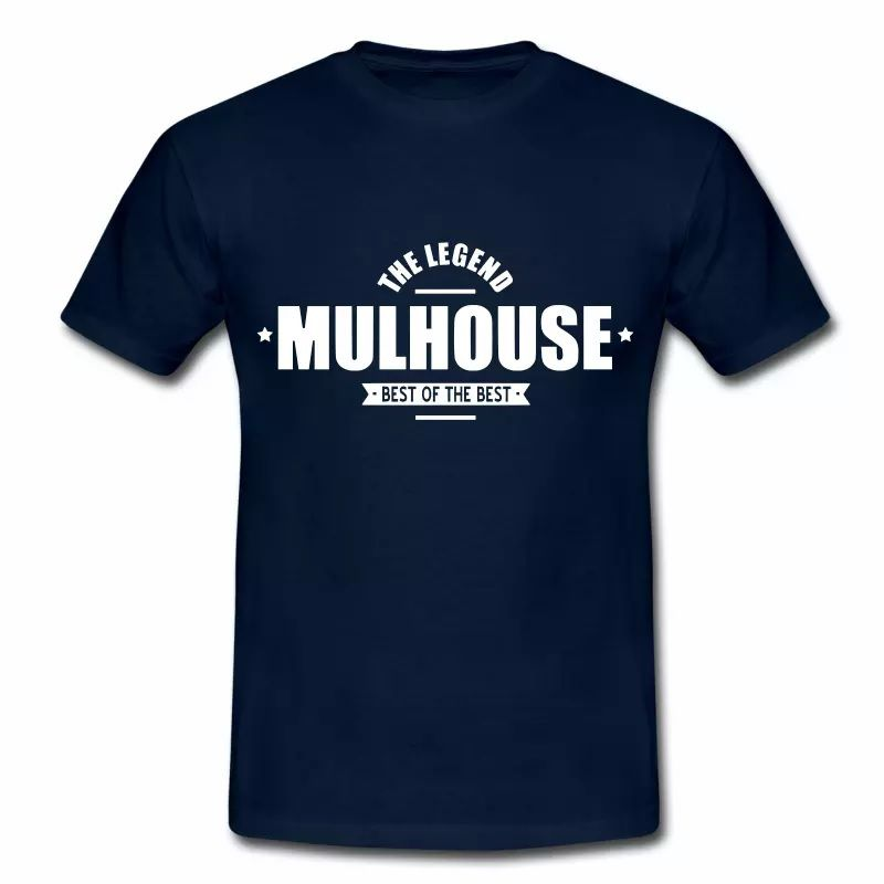 T Shirt Alsace bleu m homme Mulhouse The Legend