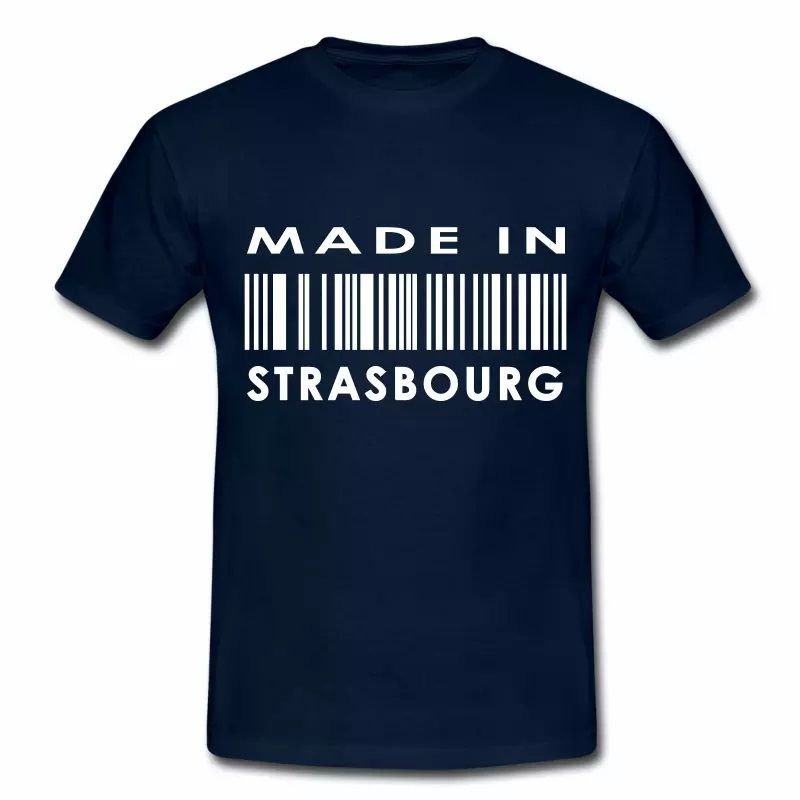 T Shirt Alsace bleu m homme Made in strasbourg