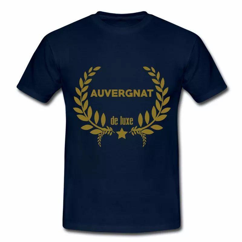 T Shirt Auvergne Auvergnat de Luxe HBM