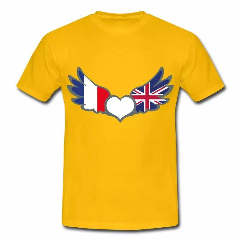 T-shirt Drapeaux France Royaume-Uni J