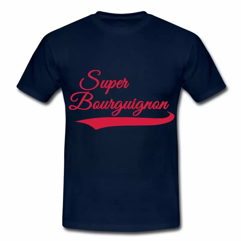 T Shirt Bourgogne Super Bourguignon HBM