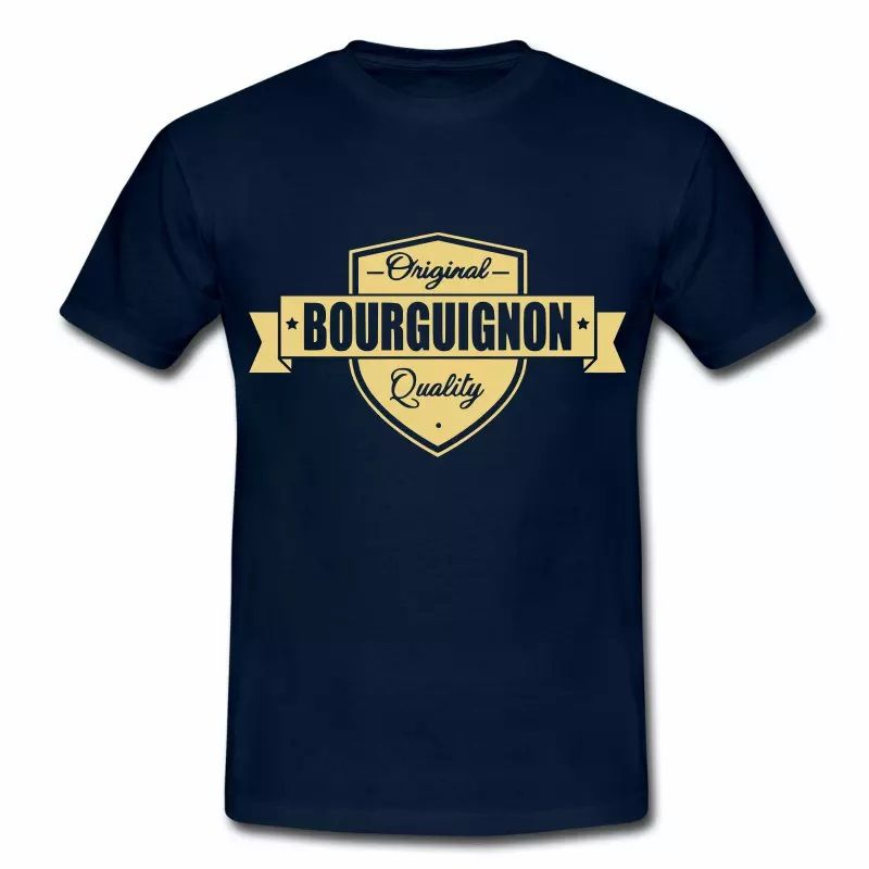 T Shirt Bourgogne Original Bourguignon Quality HBM