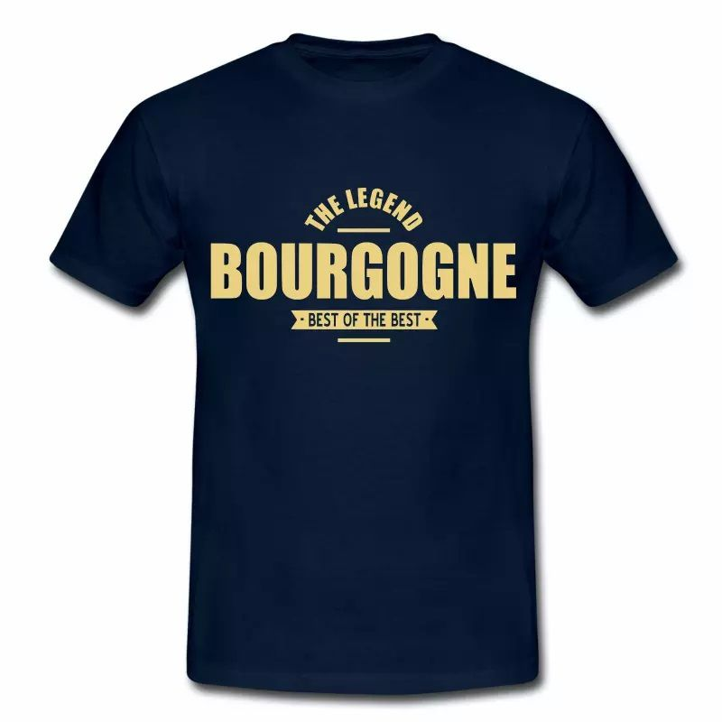 T Shirt Bourgogne The Legend Bourgogne HBM