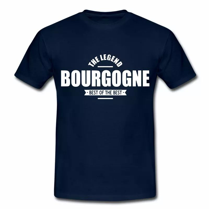 T Shirt Bourgogne The Legend Bourgogne II HBM