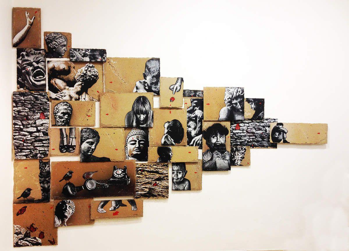 Une galerie de portraits de Jef Aérosol