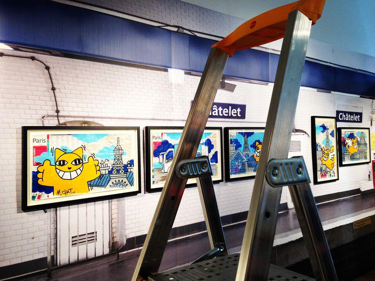 M. Chat et le métro : une vieille histoire !