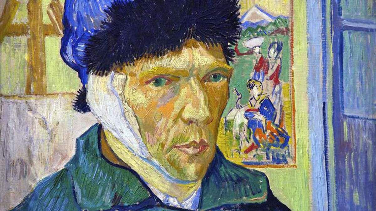 Autoportrait à l'oreille coupée (1889) - Vincent Van Gogh