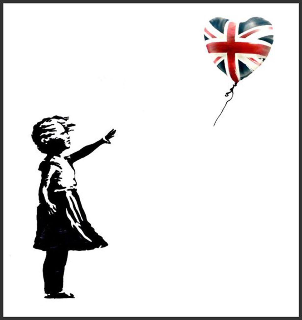 Le tirage offert par © Banksy
