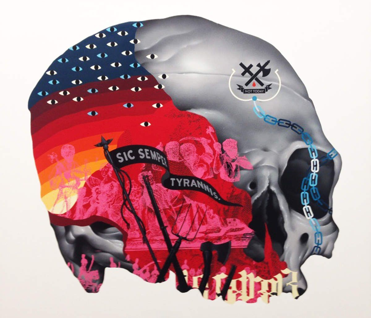 Nat Turner's Rebellion - © Tristan Eaton