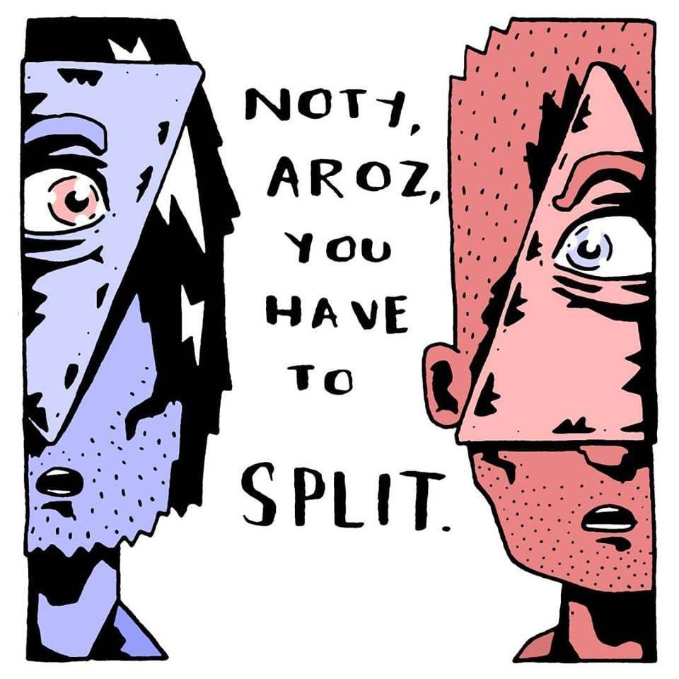 Noty et Aroz, c'est fini :-((