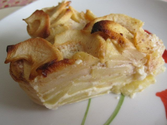 Flan pommes/cannelle *
