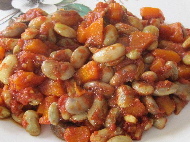 Haricots en grains frais à la tomate en cocotte minute