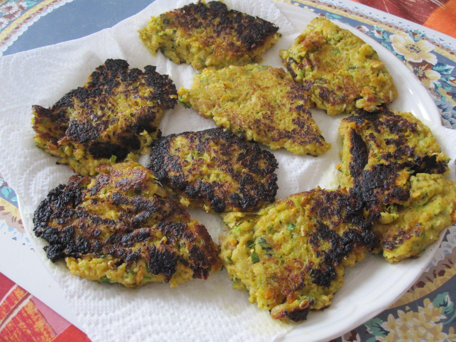 croquettes de thon aux légumes