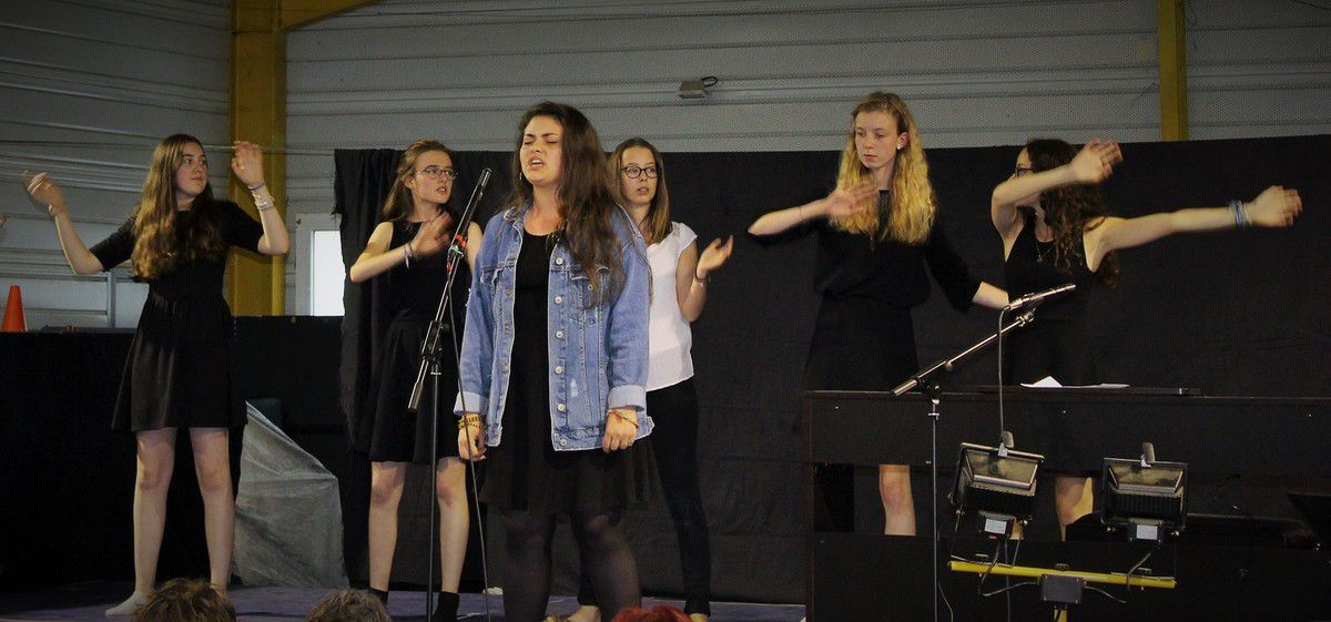 Le concert des élèves de troisième