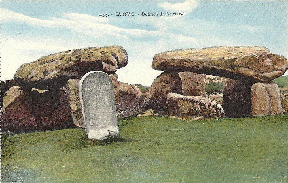 Dolmen de Keriaval ou de Mané-Keriaval ou d'Er-Roc'h, Carnac