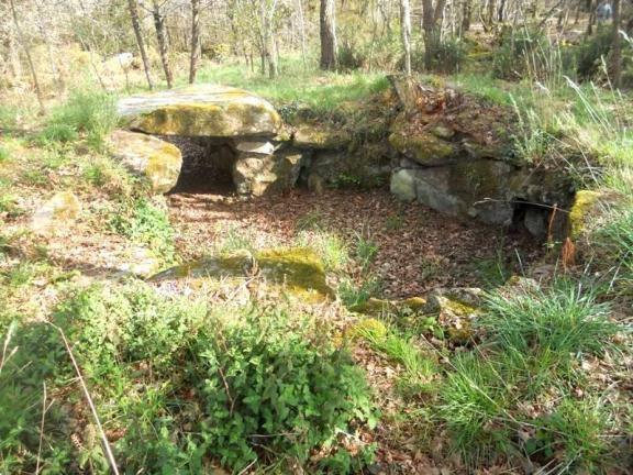 Dolmen A de Kerourang ou de Parc-er-Gueren ou de Parc-Guren, Crac'h