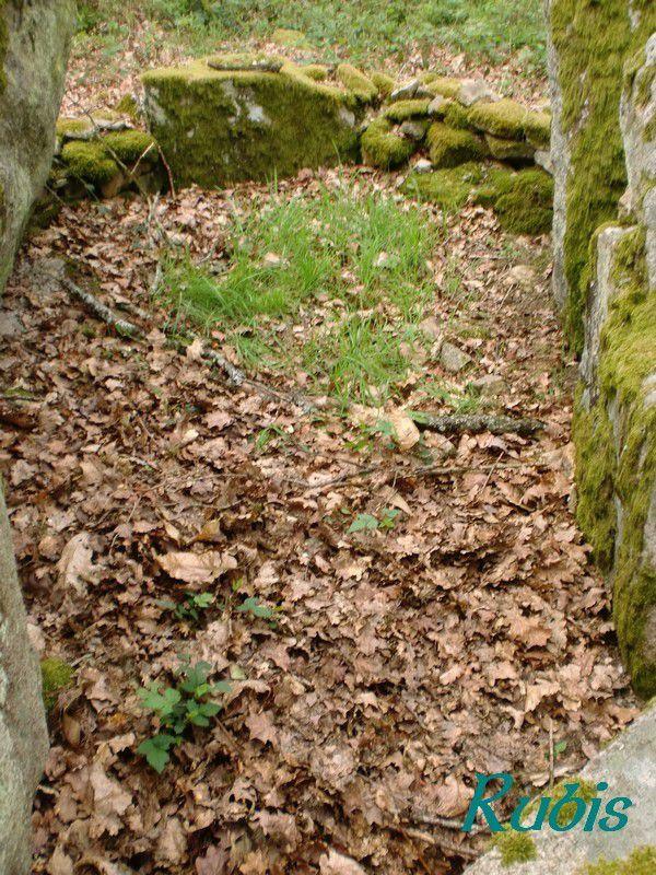 Dolmen des Quatre Routes ou du Poultot, Marsac