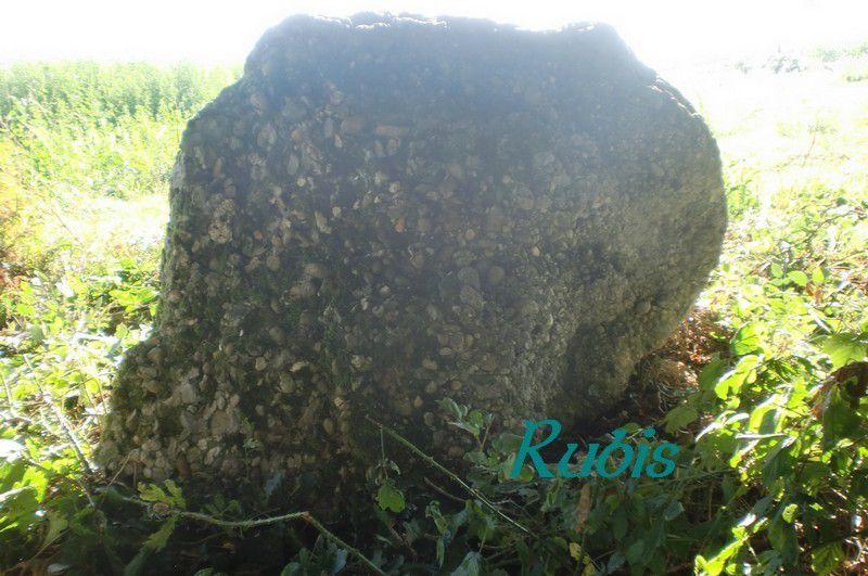 Menhir de la Pierre du Diable ou Peyre dou Diable, Sarron
