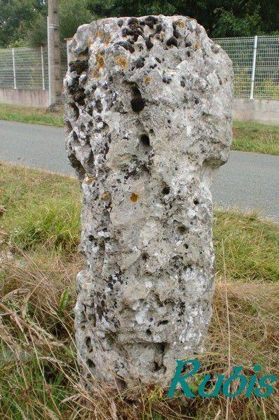 Menhir de Higaros ou de la Pierre Quillée ou de Mourrens ou de la Carrerrase, Sainte-Colombe-en-Bruilhois