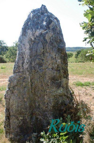 Menhir A de Rohello, Béganne