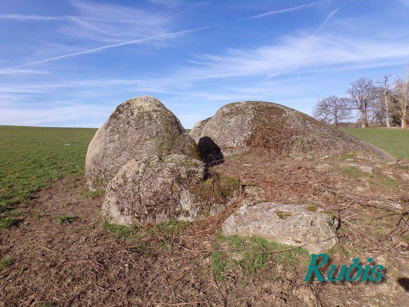 Dolmen du Grand Malibard ou de la Bachellerie, Saint-Maurice-la-Souterraine (23)