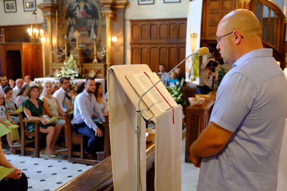 1er communion a Sclos