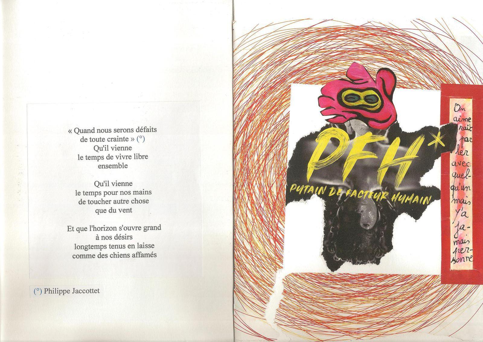 TROIS PIECES, livre d'artiste (confiné)