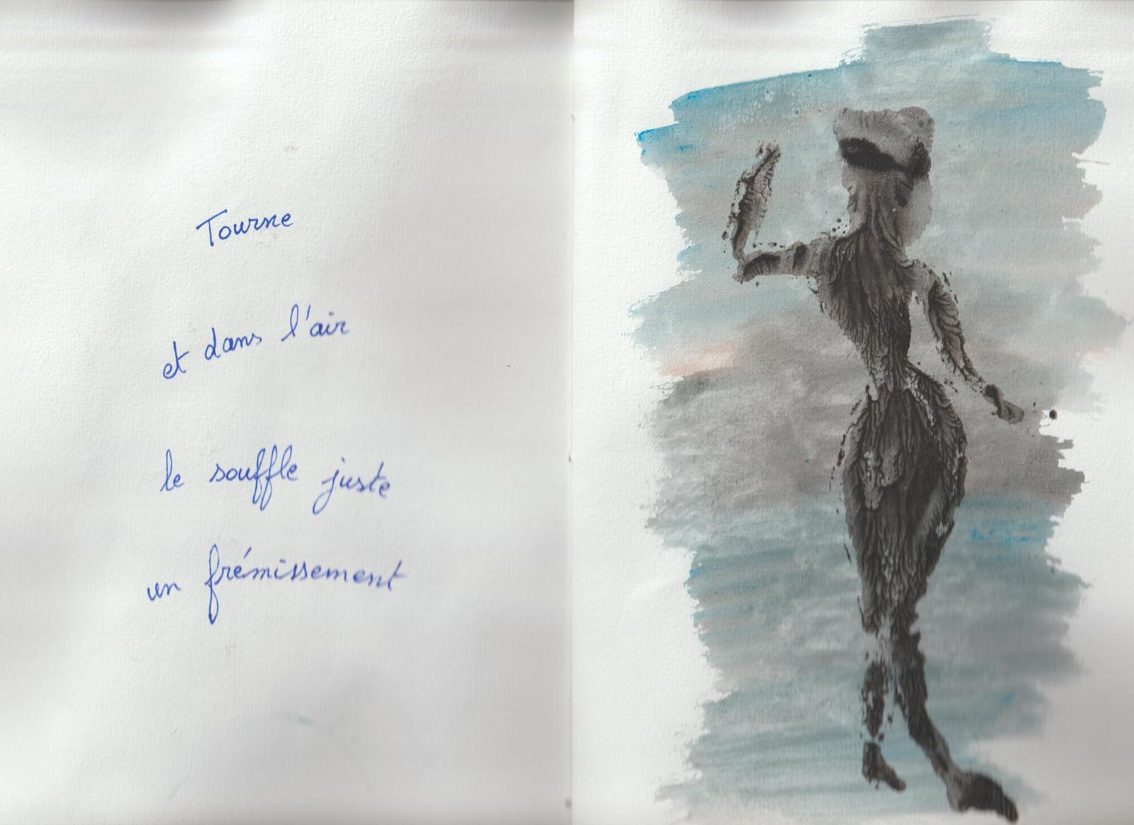 DISSOLUTIONS, carnet d'artiste