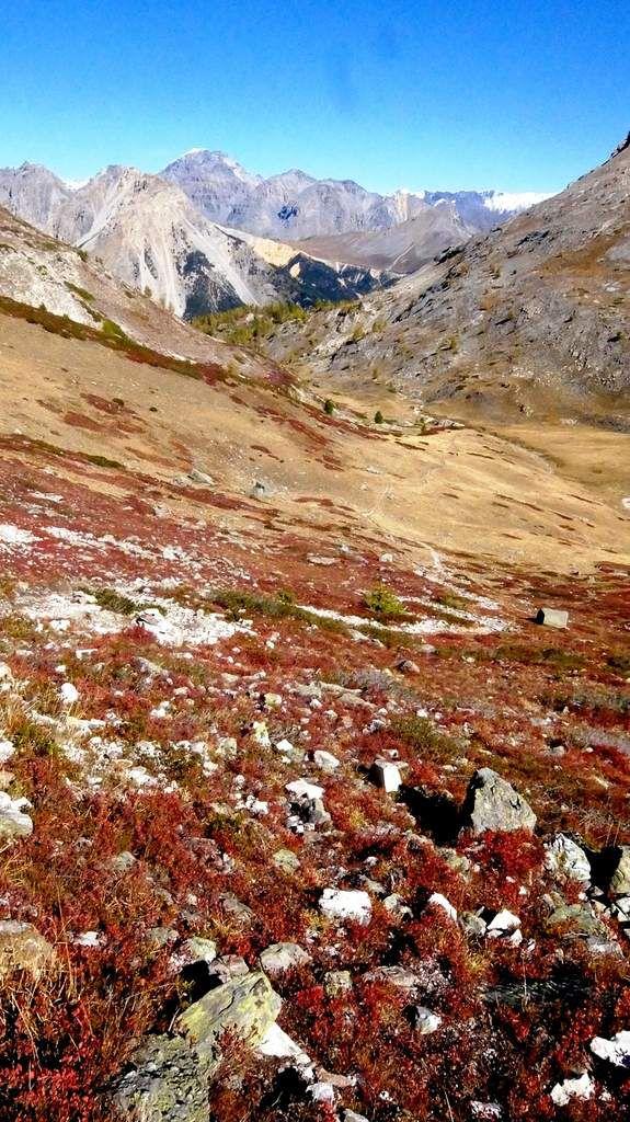 Dernière incursion en haute montagne avant l'hiver ?
